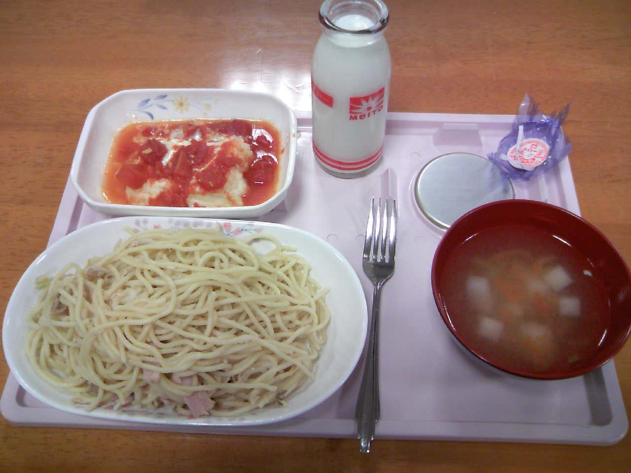 キコリ風スパゲティー